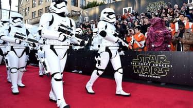 L'avant-première mondiale de Star Wars, lundi 14 décembre à Hollywood.