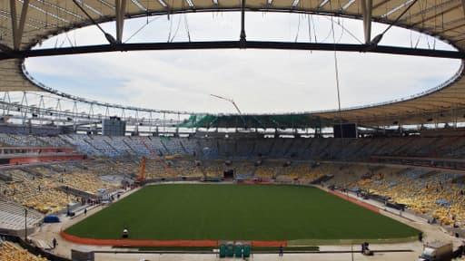 Le stade Maracana, à Rio de Janeiro, amené à être un haut-lieu de la Coupe du monde 2014.