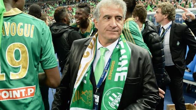 Bernard Caïazzo, président de l'ASSE.
