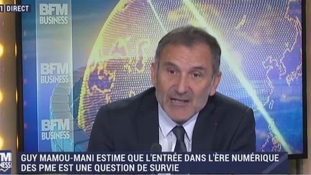 """""""La transformation numérique est un problème humain de gestion du changement""""  soutient Guy Mamou-Mani, vice-président du CNnum."""