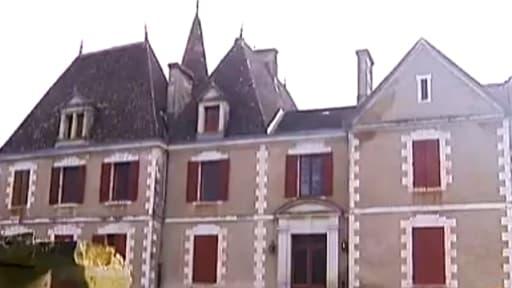 C'est dans son château de Monflanquin que la famille s'est recluse.