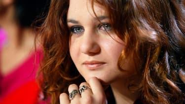 Ariane Fornia, lors de l'émission de TF1 Vol de Nuit, le 4 mai 2004