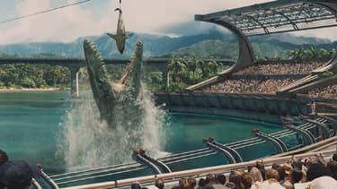 """Une image de la bande-annonce de """"Jurassic World"""", mise en ligne le 26 novembre."""