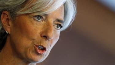 """""""Même avec les plus grands efforts, le barrage pourrait ne pas être étanche"""", déclare Chrsitine Lagarde."""