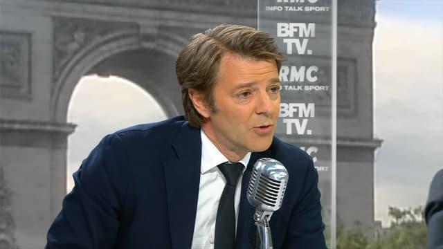 François Baroin mardi matin sur BFMTV et RMC