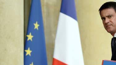 Le Premier ministre Manuel Valls à l'Elysée le 27 juillet 2016