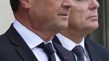L'opposition de droite considère comme une vacance du pouvoir l'absence de François Hollande et Jean-Marc Ayrault jeudi et vendredi du territoire français. Le président sera au Conseil européen à Bruxelles et le Premier ministre en tournée en Asie. /Photo