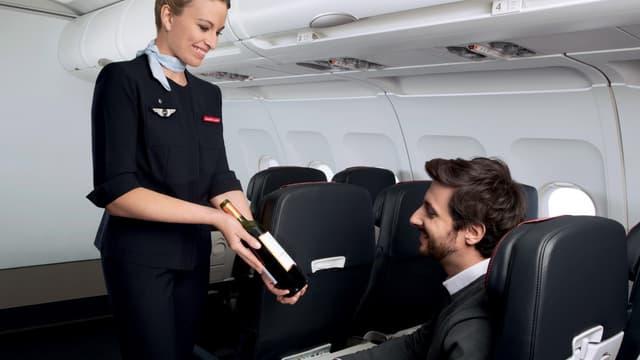 Air France dispose d'une vin exclusivement française