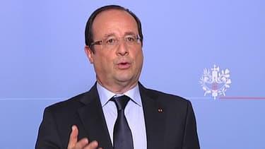 François Hollande à Lorient, le 1er juillet 2013.