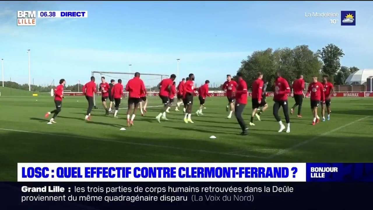 What workforce will face Clermont Foot this Saturday?