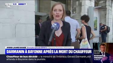 Gérald Darmanin va s'entretenir avec le maire de Bayonne avant de rencontrer les collègues du chauffeur de bus décédé
