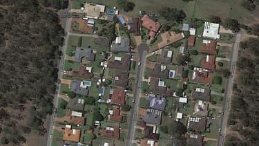 Un quartier résidentiel de la ville de Wilton en Australie