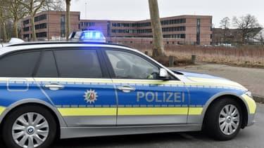 Une voiture de police allemande (photo d'illustration).