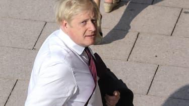 Boris Johnson lors du G7 à Biarritz.
