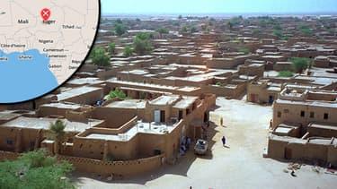 La ville d'Agadez au Niger, où Areva est implantée, a été la cible d'un attentat.