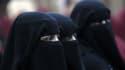 Des femmes portant le voile islamique.