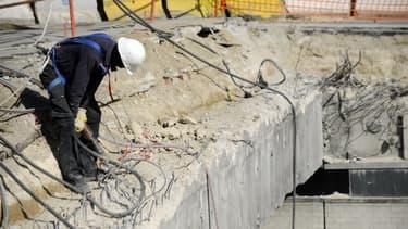 Le nombre d'emplois dans la construction a augmenté de 0,4%