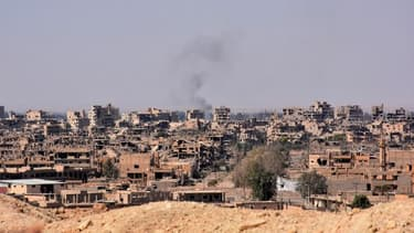 Vue générale de la ville de Deir Ezzor