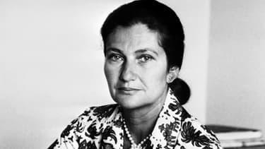 Simone Veil en janvier 1974