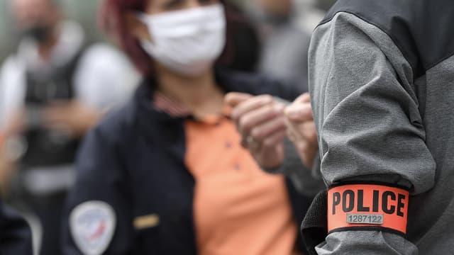 Mobilisation de policiers à Strasbourg le 19 juin dernier.