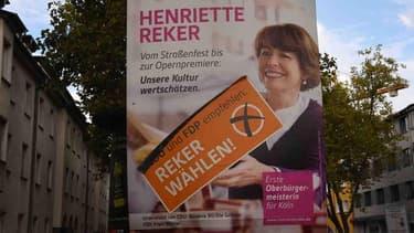 Henriette Reker a été blessée au couteau juste avant l'élection