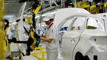 La Chine est devenue le 1er marché mondial de PSA. (Photo: l'usine de Shenzen)