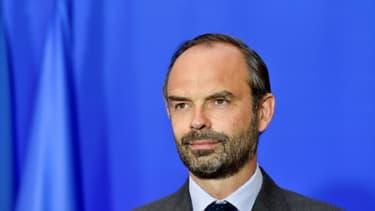 Edouard Philippe à Matignon, le 6 juin 2017