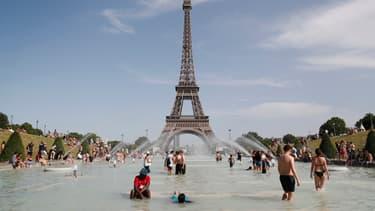 Lors des chaleurs de juin 2019, à Paris.