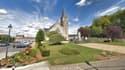 L'église de Carlepont (Oise).