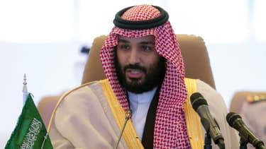 Mohammed Ben Salmane en novembre 2017 à Riyad - BANDAR AL-JALOUD / Saudi Royal Palace / AFP