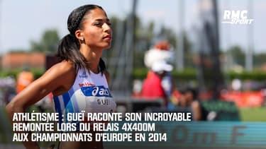 Athlétisme : Gueï raconte son incroyable remontée lors du relais 4x400m aux championnats d'Europe en 2014