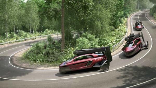 Le constructeur annonce plus de 1300 kilomètres d'autonomie avec un seul plein sur route, 400 à 500 kilomètres dans les airs.