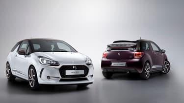 Le restylage de la DS 3 marque une nouvelle étape dans son affranchissement de la maison-mère Citroën, avec la disparition des mythiques chevrons.