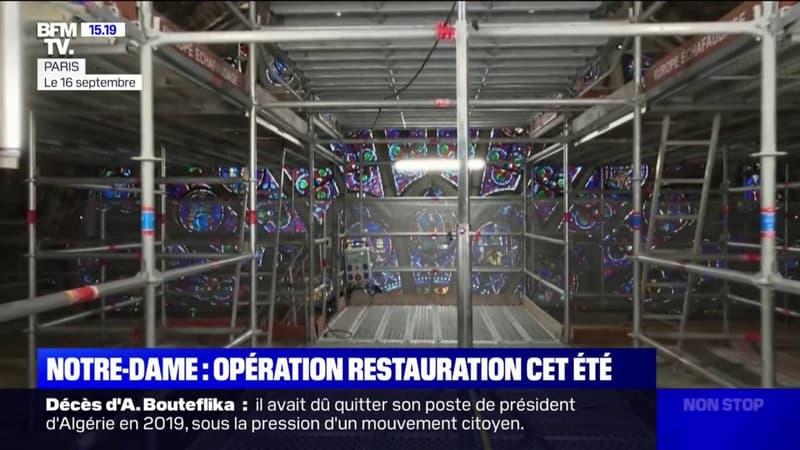 Notre-Dame de Paris: la sécurisation de la cathédrale achevée, sa restauration va pouvoir commencer