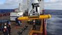 Le premier déploiement du robot sous-marin, le 14 avril.