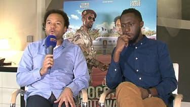 """Fabrice Eboué et Thomas Ngijol, à l'affiche du """"crocodile du Botswanga"""", en salles le 19 février."""