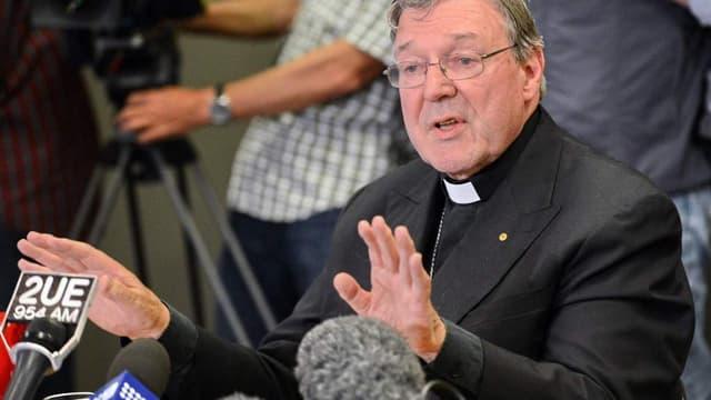 George Pell avait été nommé en février par le Pape François pour mettre de l'ordre dans les Finances du Saint-Siège.