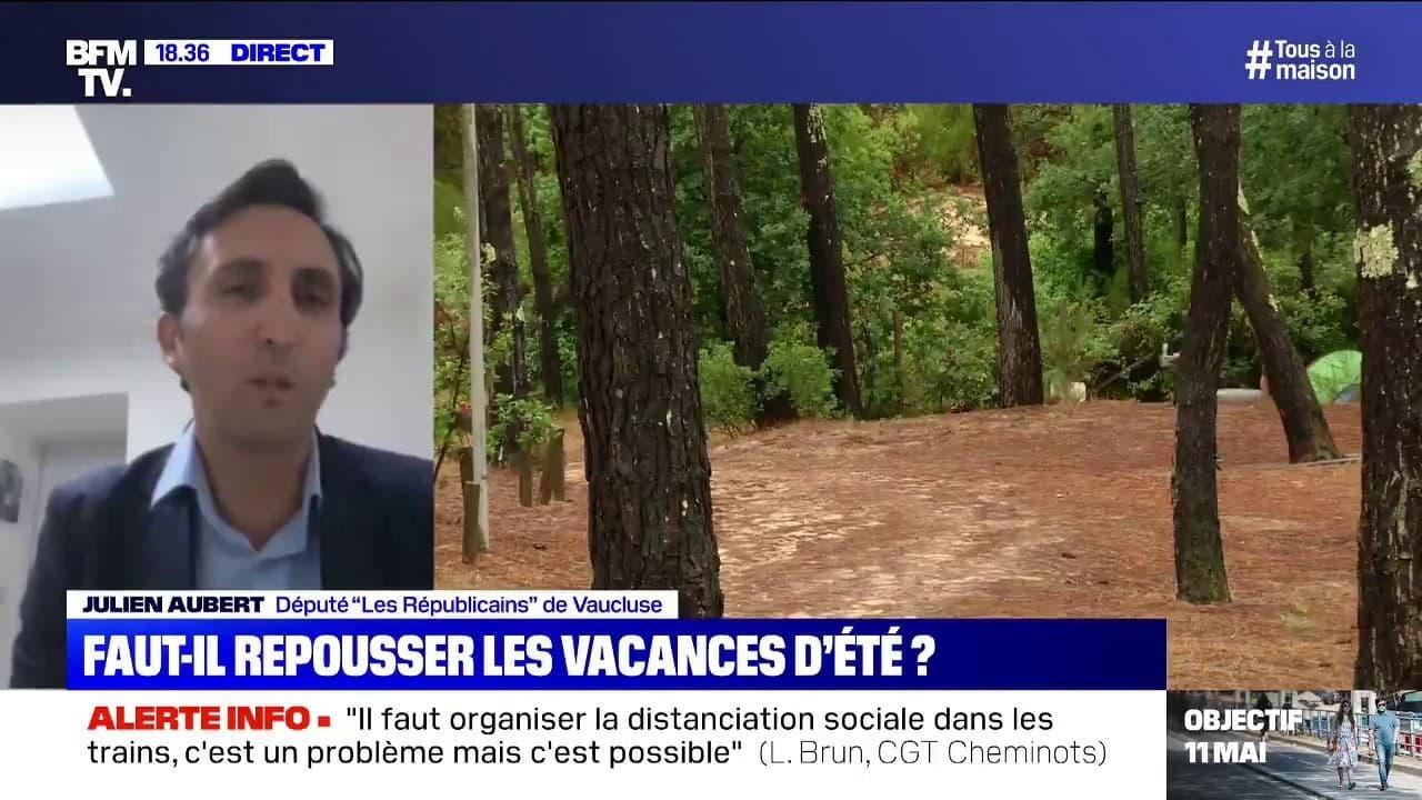 """Tourisme: Julien Aubert appelle le gouvernement à """"être clair sur les espaces qui pourront ouvrir"""""""