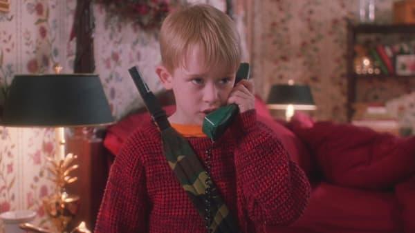 Macaulay Culkin dans Maman j'ai raté l'avion