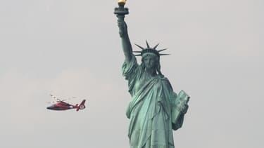 La statue de la Liberté évacuée après un début d'incendie, le 27 août 2018