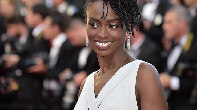 La comédienne Aïssa Maïga au festival de Cannes en 2014.