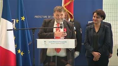 Le proviseur du lycée de Grasse a reçu la Légion d'honneur.