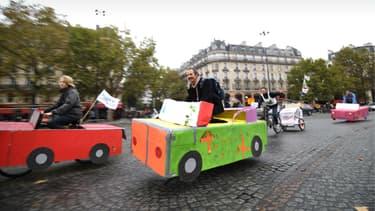 La circulation automobile est interdite dans Paris le 16 septembre.