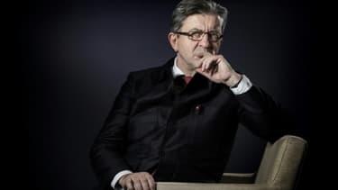 Jean-Luc Mélenchon, le 24 janvier à Paris