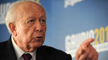 """Le candidat sortant à la mairie de Marseille, Jean-Claude Gaudin estime que François Hollande est le """"directeur de campagne"""" de son adversaire Patrick Mennucci"""