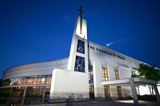 L'église où aura lieu une dernière cérémonie publique pour George Floyd le 8 juin 2020 à Houston, au Texas