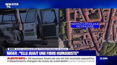"""""""Elle avait une fibre humaniste"""": un ancien camarade de Myriam, tuée au Niger, témoigne"""