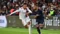 Malo Gusto et Neymar lors de PSG-OL