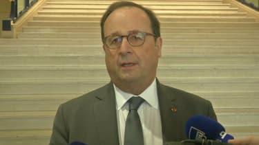 François Hollande le 27 novembre 2019