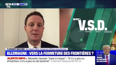 """Clément Beaune: """"Il n'y a pas eu d'inaction, il n'y a pas eu de laxisme"""" face à la propagation du variant sud-africain en Moselle"""